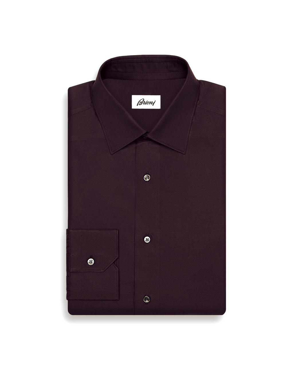 BRIONI Burgundy Shirt Formal shirt Man f