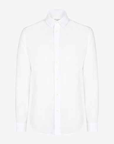 MAISON MARGIELA Long sleeve shirt Man Cotton shirt f