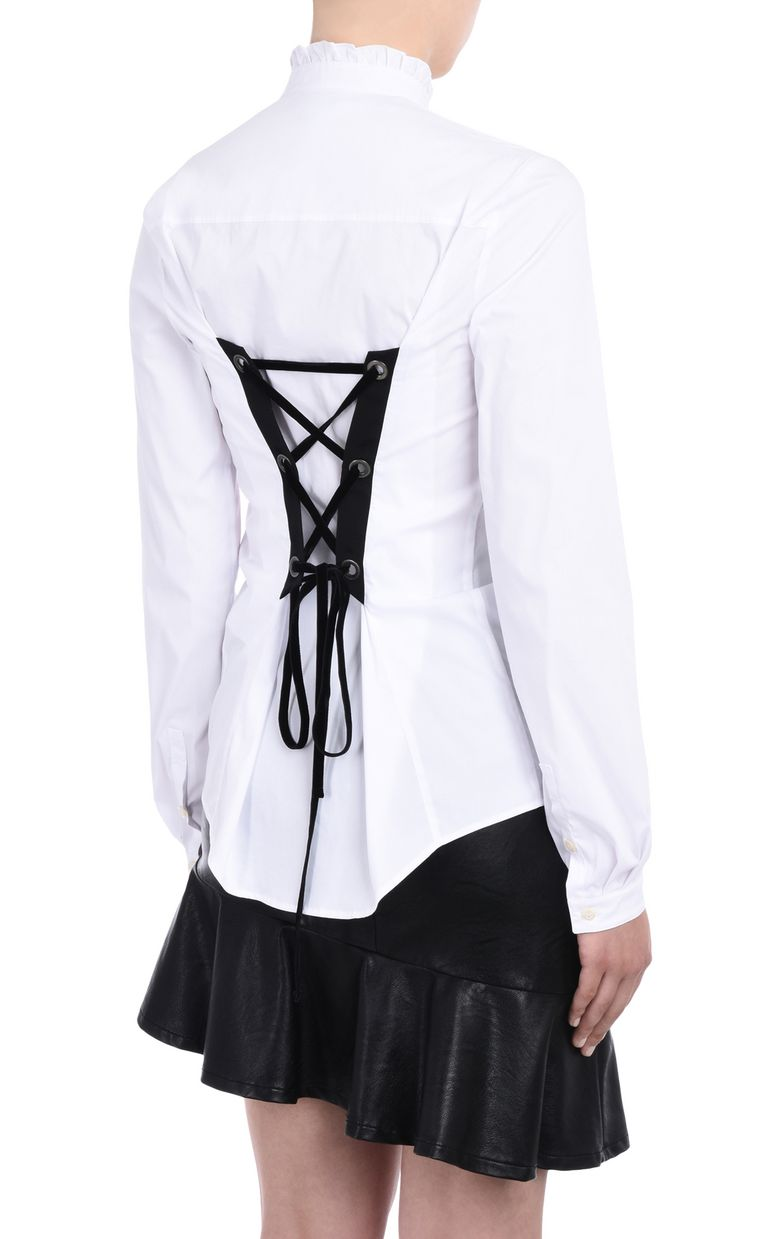 JUST CAVALLI Ruched blouse  Long sleeve shirt D d