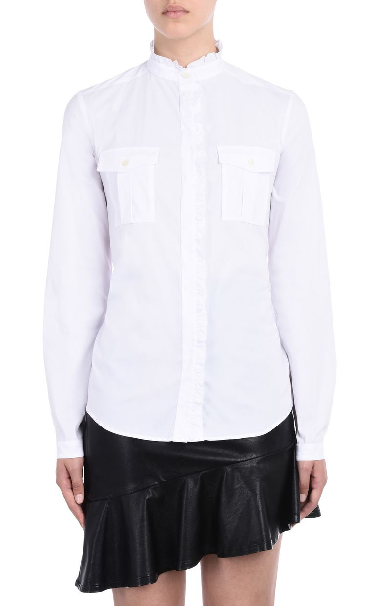 JUST CAVALLI Ruched blouse  Long sleeve shirt D f