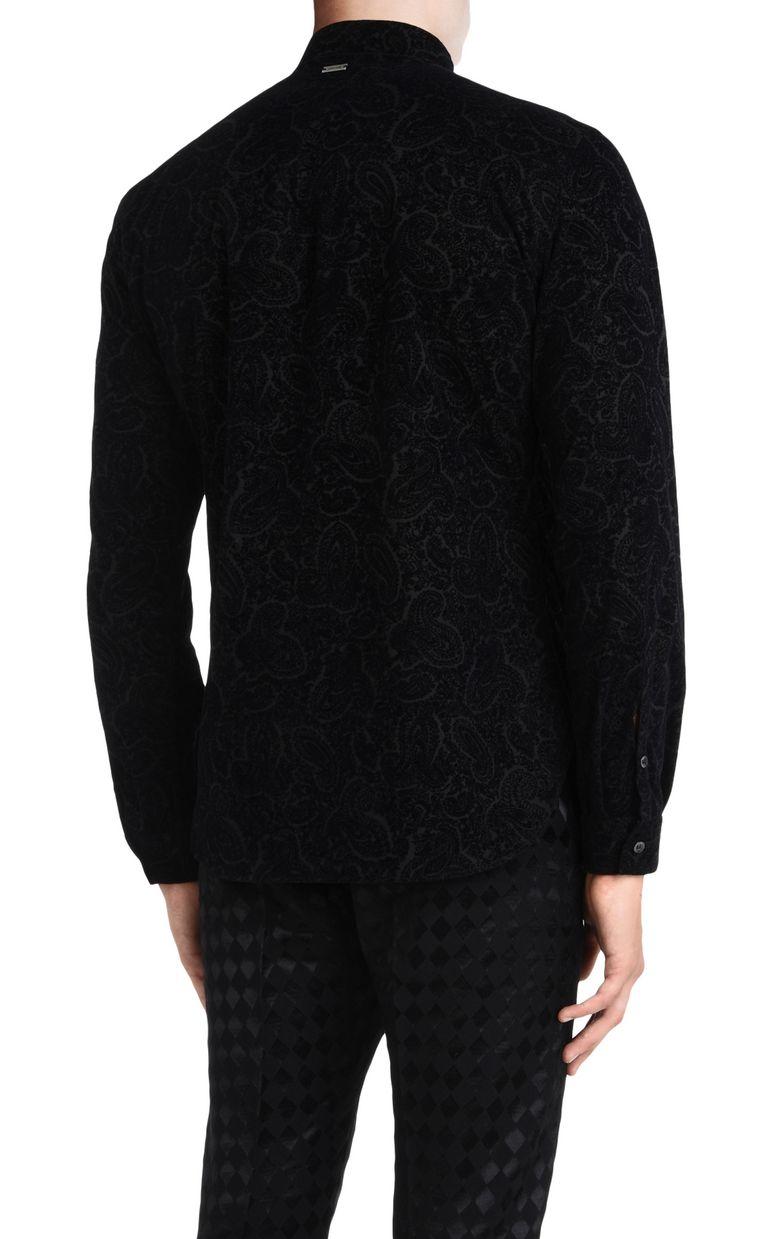 JUST CAVALLI Two-tone pattern shirt Long sleeve shirt U d
