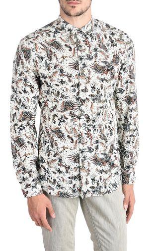JUST CAVALLI Long sleeve shirt U Print-design shirt f