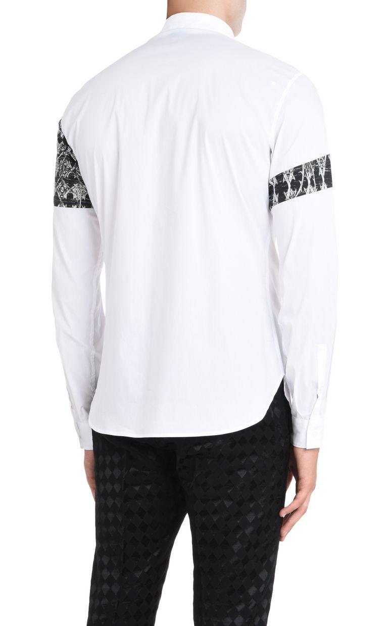 JUST CAVALLI Shirt with detailing Long sleeve shirt U d