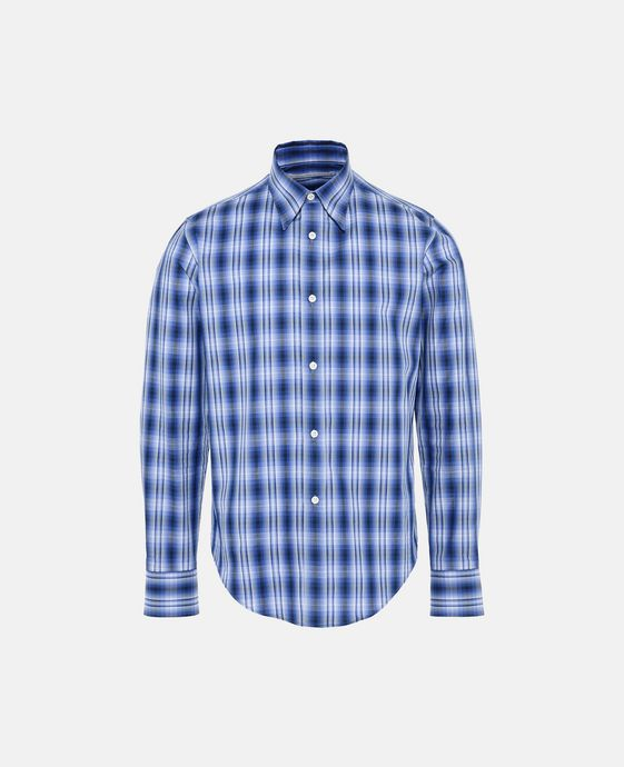 Blue Check Simon Shirt