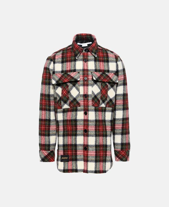 Red Tartan Slay Shirt