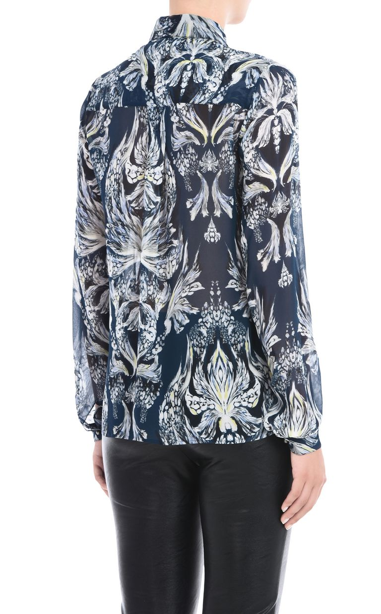 JUST CAVALLI Printed shirt Long sleeve shirt Woman d