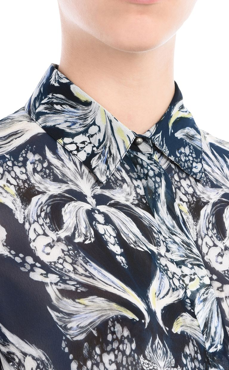 JUST CAVALLI Printed shirt Long sleeve shirt Woman e
