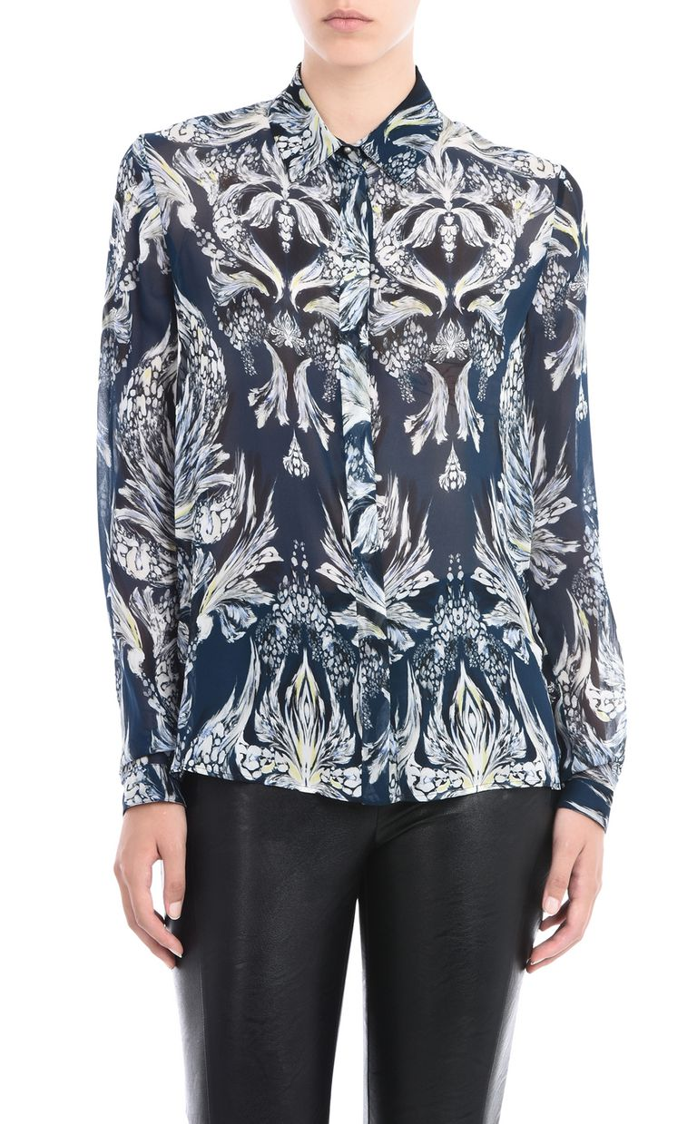 JUST CAVALLI Printed shirt Long sleeve shirt Woman f