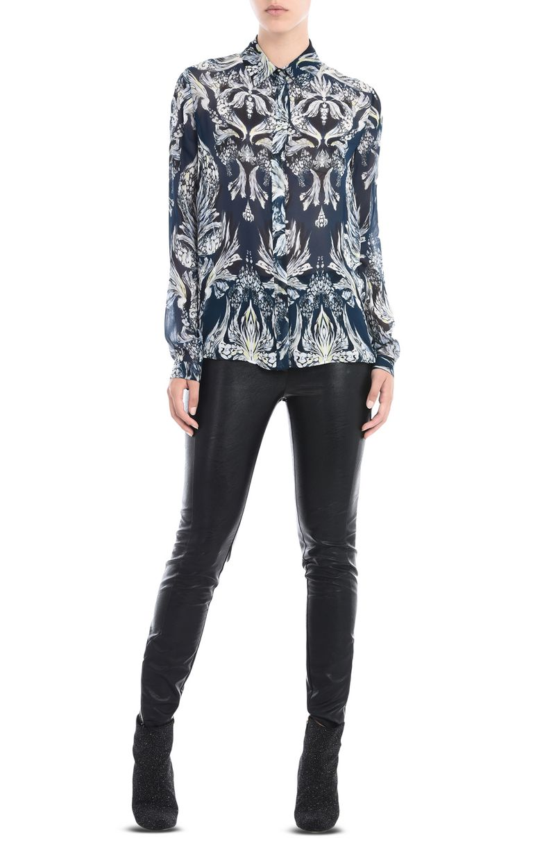 JUST CAVALLI Printed shirt Long sleeve shirt Woman r