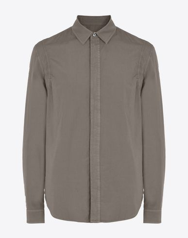 MAISON MARGIELA Slim fit vintage dyed shirt Long sleeve shirt U f