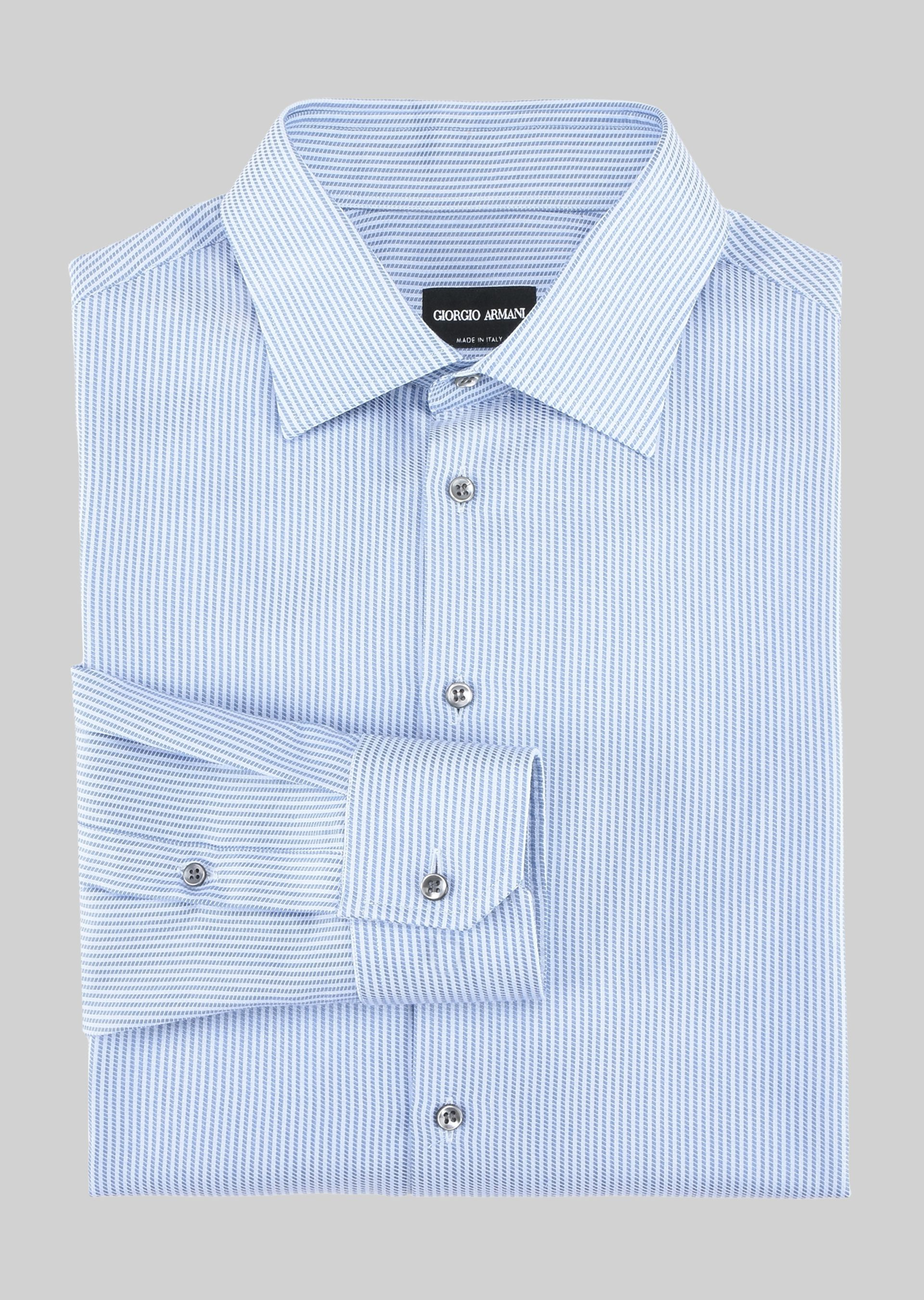GIORGIO ARMANI FRENCH COLLAR COTTON SHIRT Classic Shirt U r