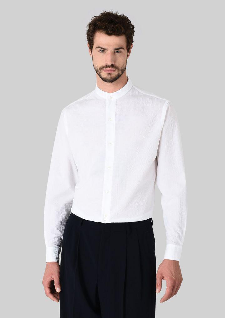 53af9f7052 Camisa de algodón puro
