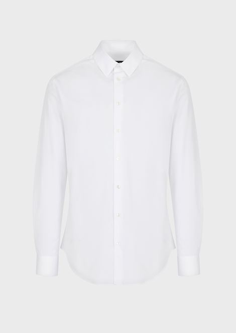 CLASSIC COLLAR COTTON SHIRT
