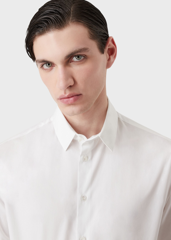 GIORGIO ARMANI CLASSIC COLLAR COTTON SHIRT Casual Shirt U a