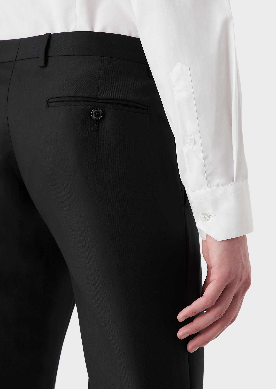GIORGIO ARMANI CLASSIC COLLAR COTTON SHIRT Casual Shirt U b