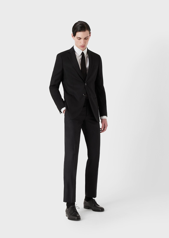 GIORGIO ARMANI CLASSIC COLLAR COTTON SHIRT Casual Shirt U e