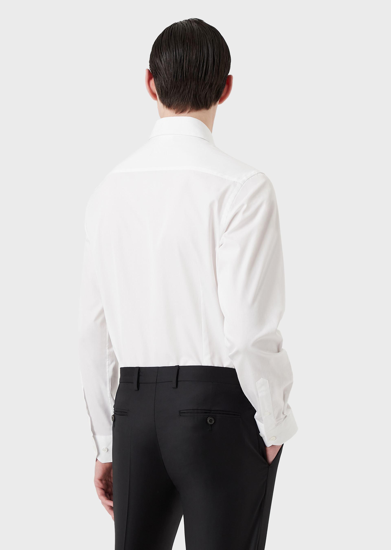 GIORGIO ARMANI CLASSIC COLLAR COTTON SHIRT Casual Shirt U r