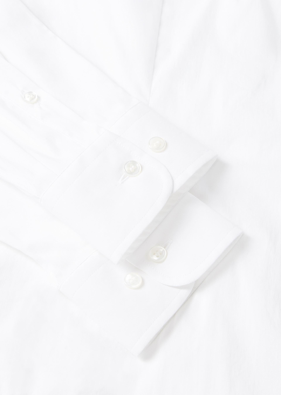 GIORGIO ARMANI CLASSIC COLLAR STRETCH COTTON BLEND SHIRT Casual Shirt U b
