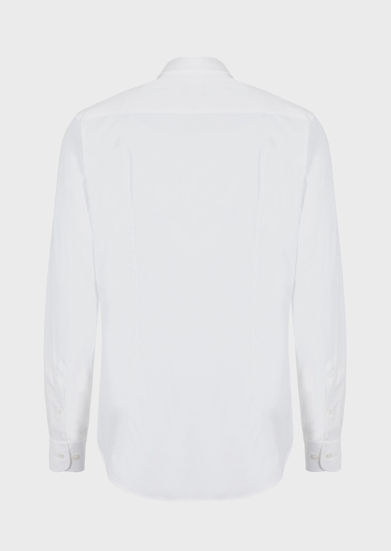 GIORGIO ARMANI CLASSIC COLLAR STRETCH COTTON BLEND SHIRT Casual Shirt U e