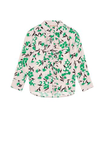 Marni BLOUSE IN VISCOSE CREPE WITH SISTOWBELL PRINT Woman