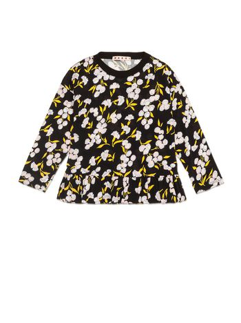 Marni JERSEY T-SHIRT WITH SISTOWBELL PRINT Woman
