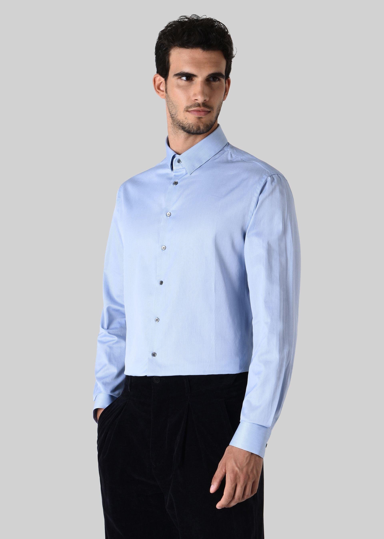 GIORGIO ARMANI FRENCH COLLAR COTTON SHIRT Classic Shirt U d
