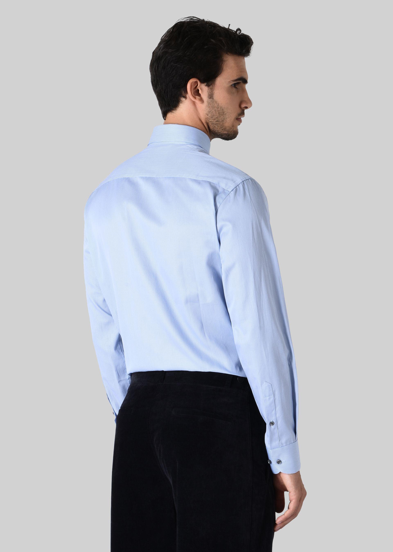 GIORGIO ARMANI FRENCH COLLAR COTTON SHIRT Classic Shirt U e