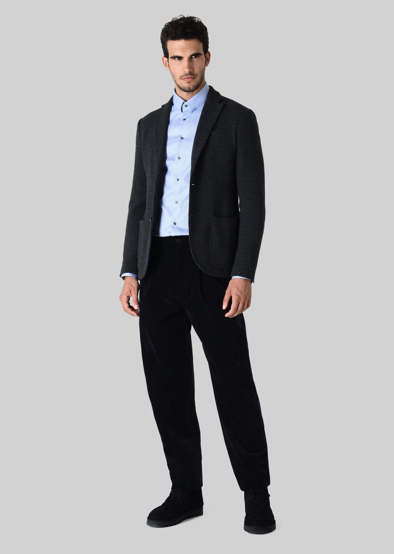 GIORGIO ARMANI FRENCH COLLAR COTTON SHIRT Classic Shirt U f
