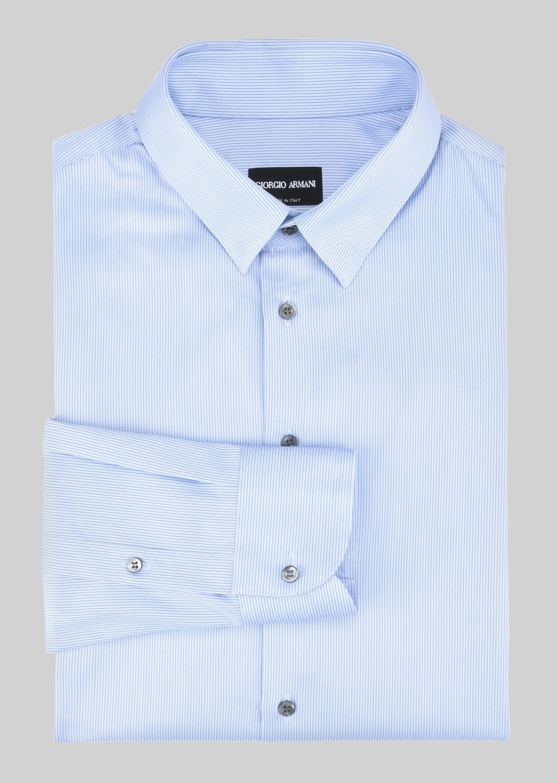 GIORGIO ARMANI FRENCH COLLAR COTTON SHIRT Classic Shirt U r