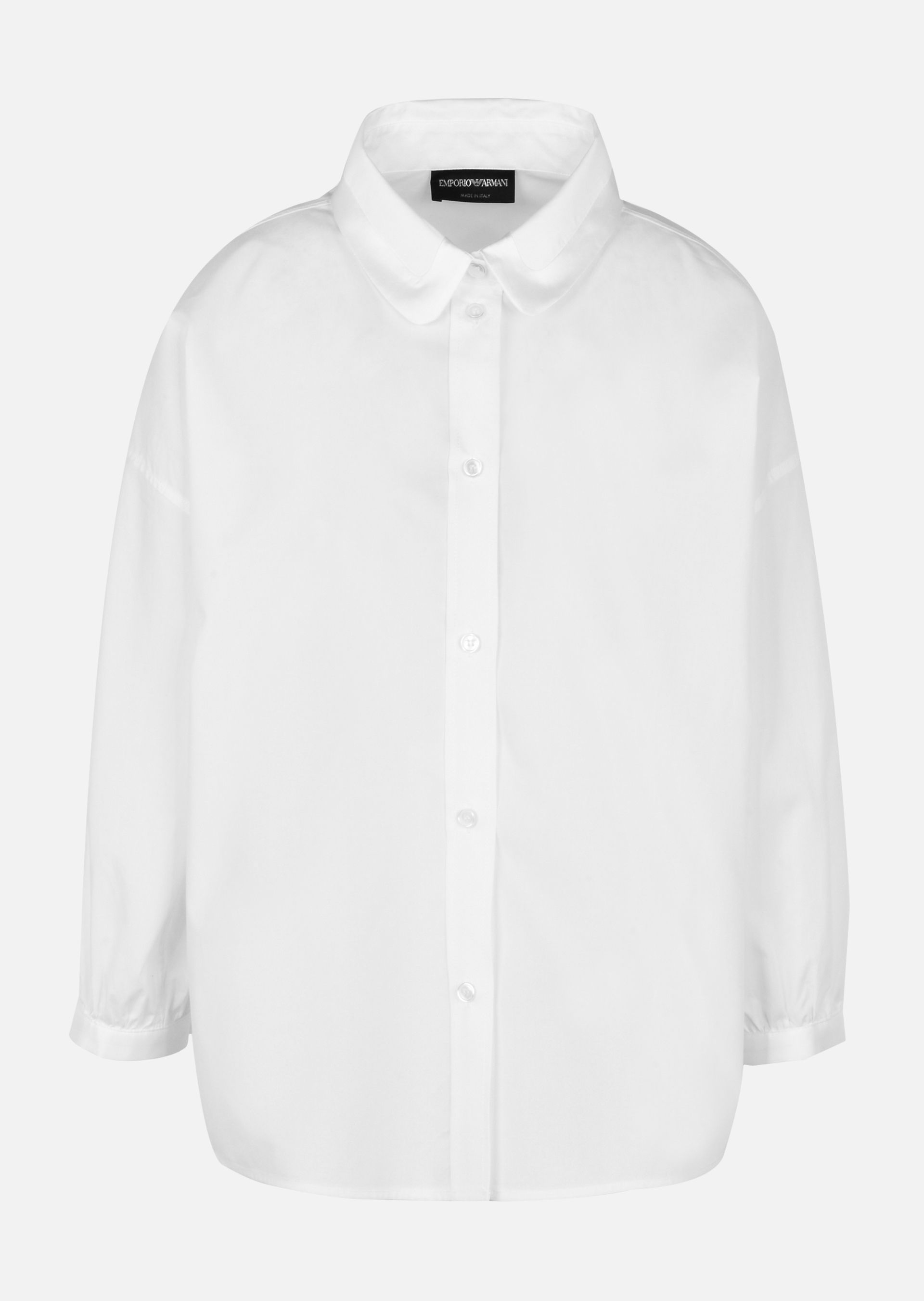 Womens Cotton Poplin Blouse Giorgio Armani Cheapest Price Online Top-Rated lNs1Rc