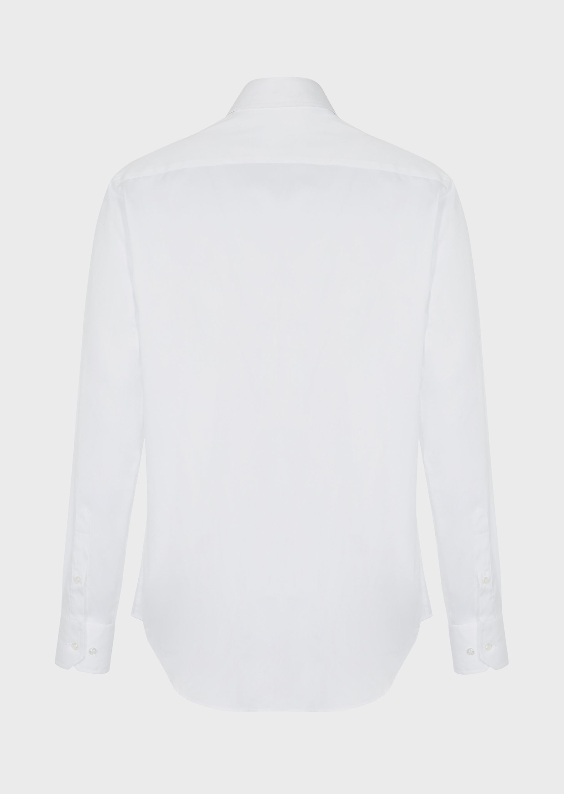 GIORGIO ARMANI FRENCH COLLAR COTTON TWILL SHIRT Classic Shirt U e