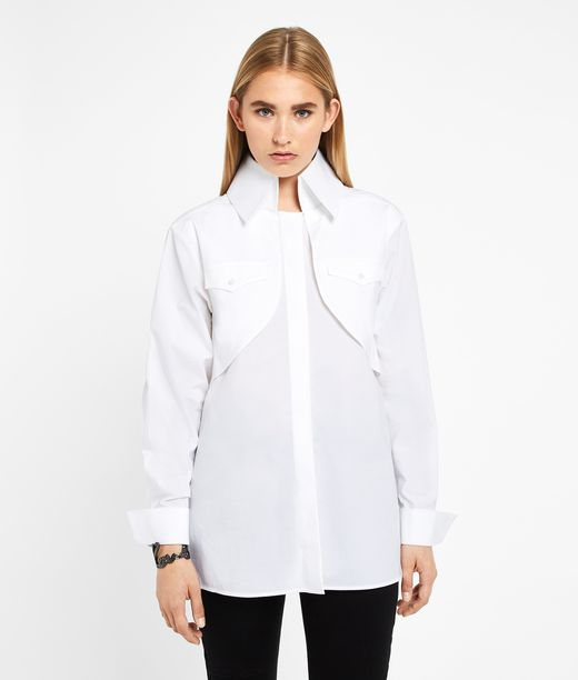 KARL LAGERFELD Karl Bolero Shirt 12_f
