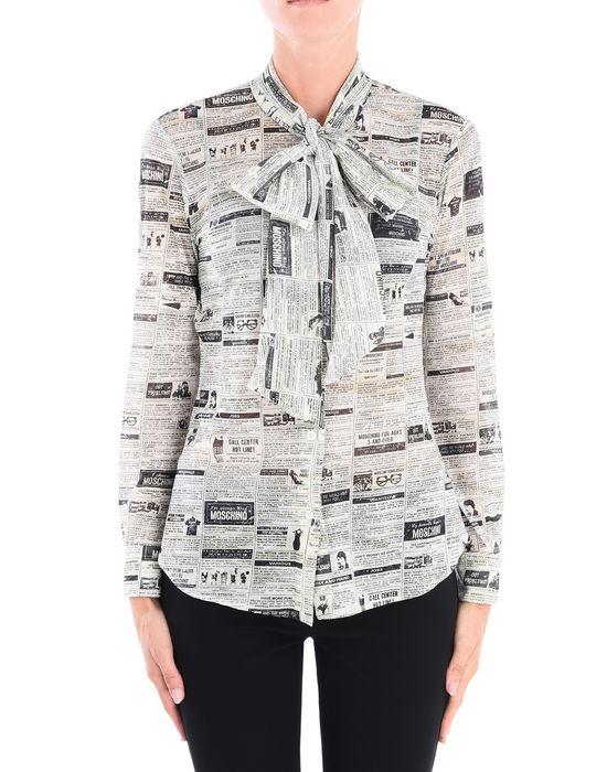 Long sleeve shirt Woman MOSCHINO