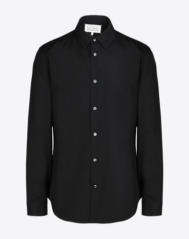 MAISON MARGIELA Poplin shirt Long sleeve shirt U f