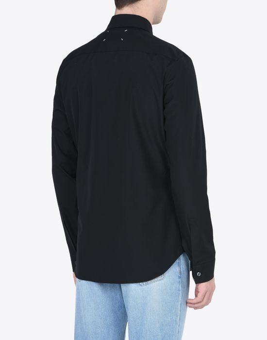 MAISON MARGIELA Poplin shirt Long sleeve shirt Man e