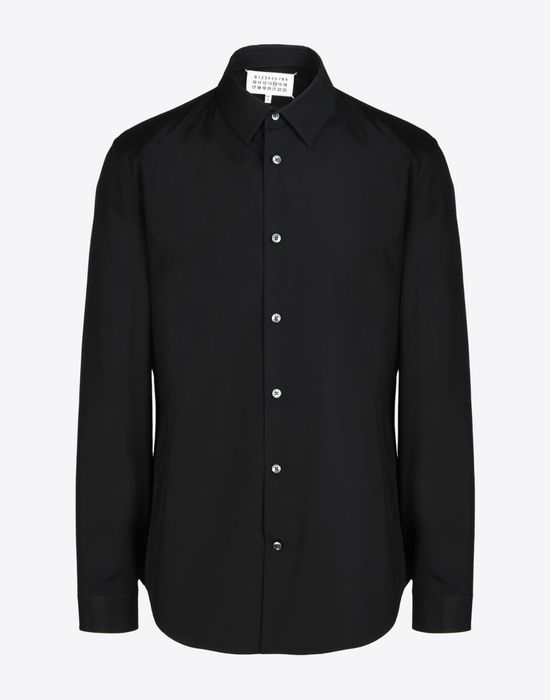 MAISON MARGIELA Poplin shirt Long sleeve shirt Man f