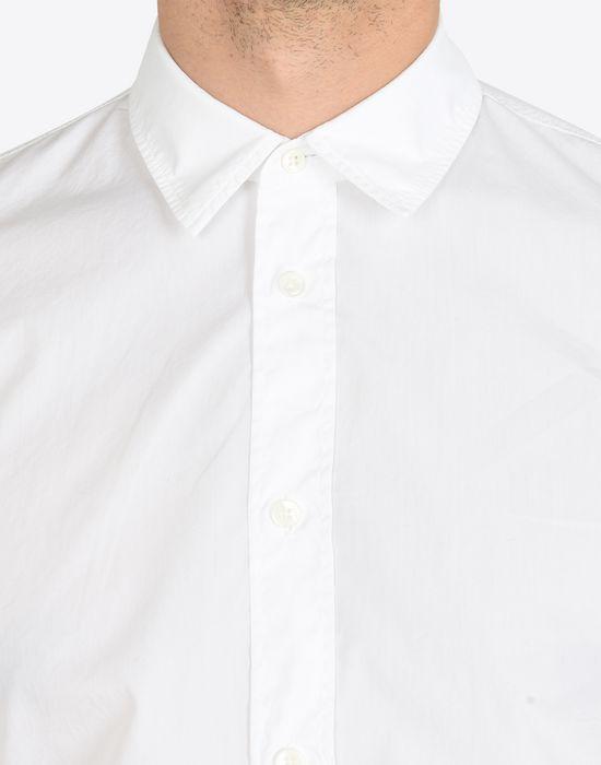 MAISON MARGIELA Cotton poplin button-up shirt Long sleeve shirt Man a