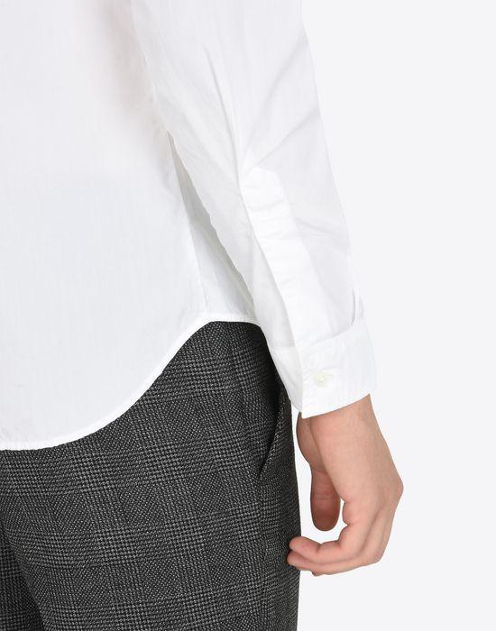 MAISON MARGIELA Cotton poplin button-up shirt Long sleeve shirt Man b