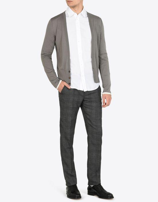MAISON MARGIELA Cotton poplin button-up shirt Long sleeve shirt Man d