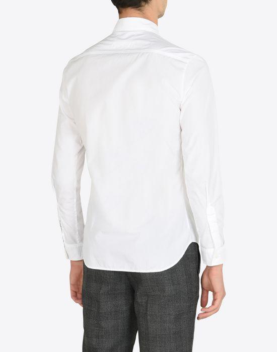MAISON MARGIELA Cotton poplin button-up shirt Long sleeve shirt Man e