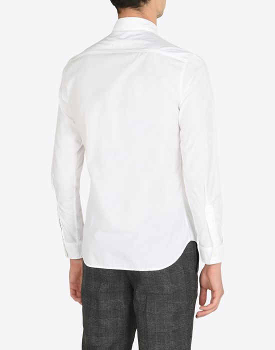 MAISON MARGIELA Cotton poplin button-up shirt Long sleeve shirt [*** pickupInStoreShippingNotGuaranteed_info ***] e