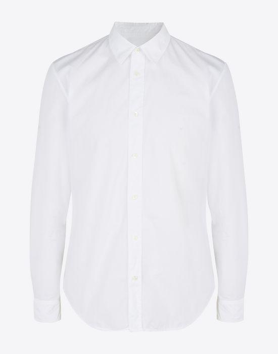 MAISON MARGIELA Cotton poplin button-up shirt Long sleeve shirt Man f