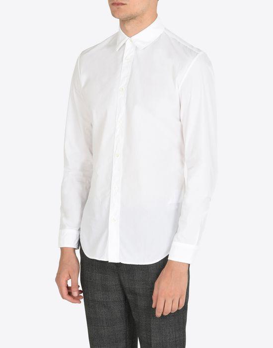 MAISON MARGIELA Cotton poplin button-up shirt Long sleeve shirt Man r