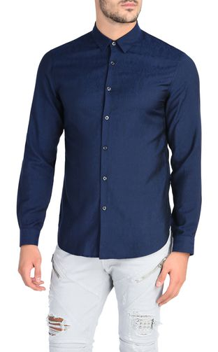 JUST CAVALLI Short sleeve shirt U Short-sleeved New World shirt f