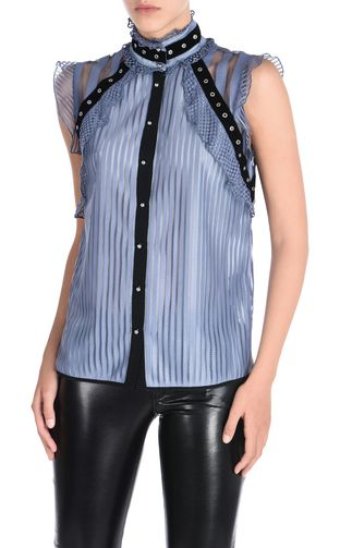 JUST CAVALLI Sleeveless shirt D f