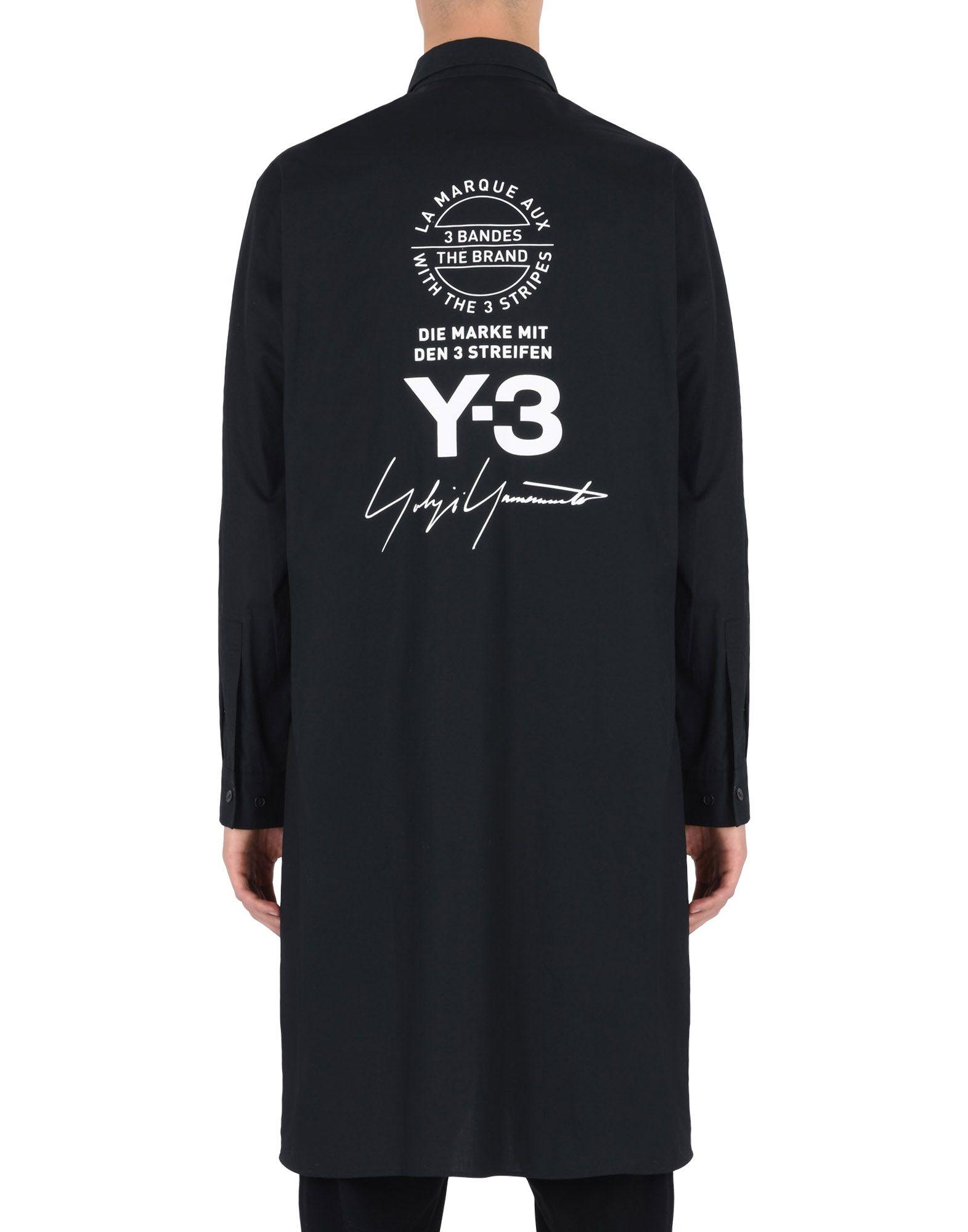 Y-3 Y-3 YOHJI SHIRT Long sleeve shirt E e