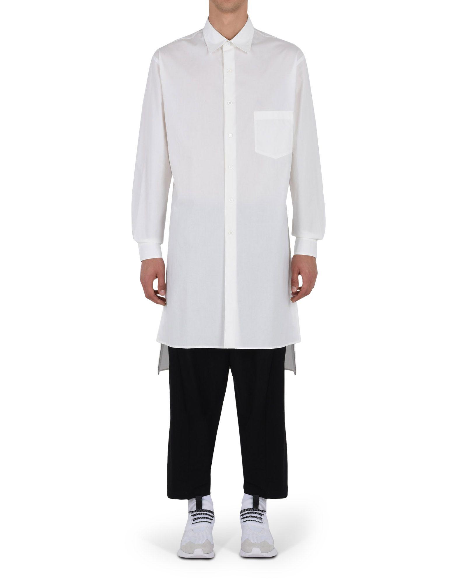 Y-3 Y-3 YOHJI EMBROIDERED SHIRT Long sleeve shirt E d