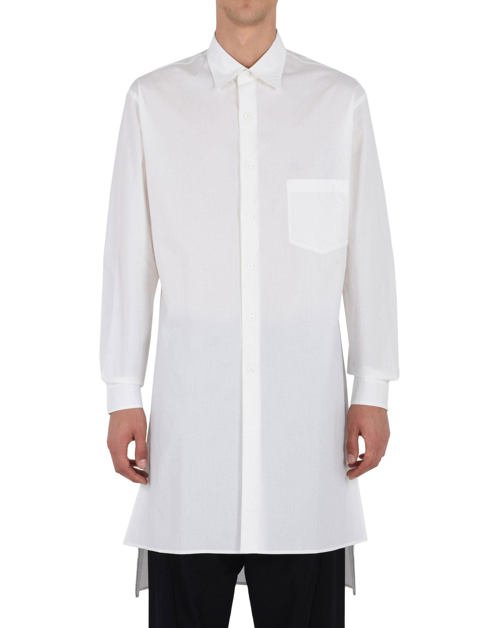 Y-3 Y-3 YOHJI EMBROIDERED SHIRT Long sleeve shirt E r