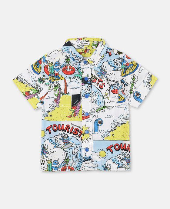 Rowan Tourists Print Shirt
