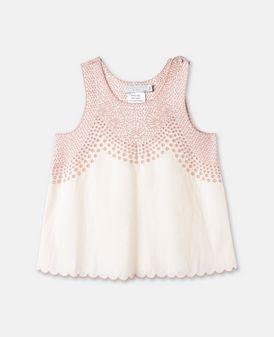 Sale - Adriana Broderie Anglaise Organic Cotton Top - Stella McCartney Kids Stella McCartney Clearance Deals 3OqNRz